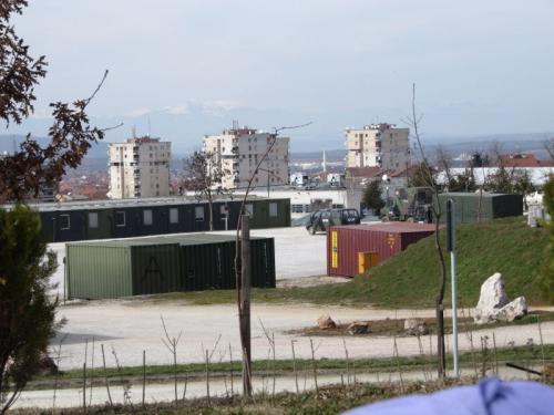 Feldlager in Prizren