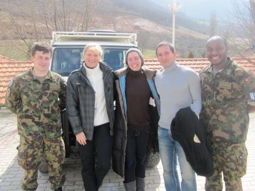 Unterwegs mit dem LMT-Team aus der Schweiz