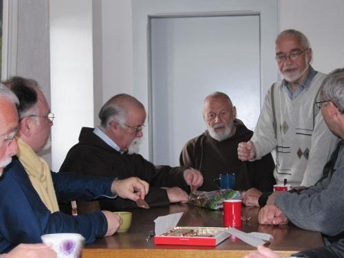 Br. Klaus, Br. Echardt, Br. Paul
