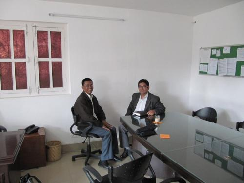 Mr. Min Shahi,Rato-B.-Foundation<br />Mr. Tamang, Nepal Help Org.
