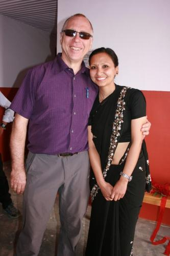 Dr. Klaus Eckert, Rhenu Lama<br />Brepal e.V.
