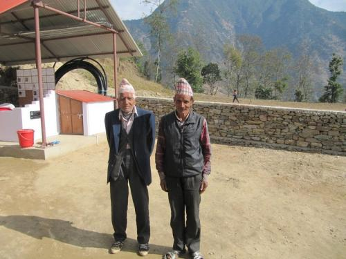 Jagu Lal Bhusal und Chhabi Lal Bhusal