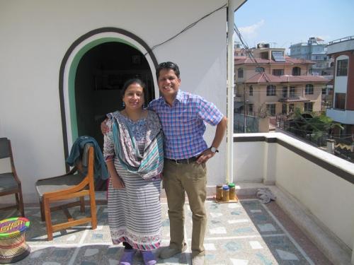 Saraswoti Chhetri<br />Kreshnas Frau