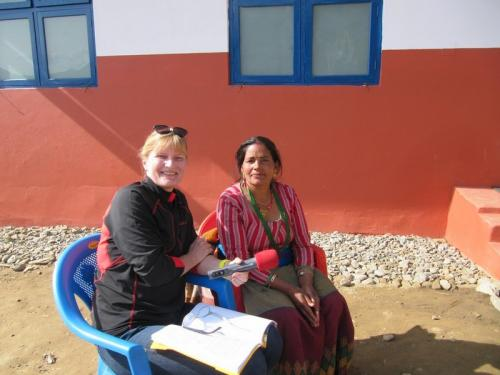 Bela Kuma Casy<br />Leiterin der Fraunegruppe BKT