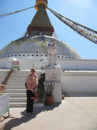 Kathmandu, Bodnath, Stupa