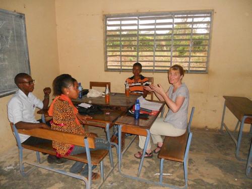 Bela, Lehrer Sekou Diallo und Aissiatou