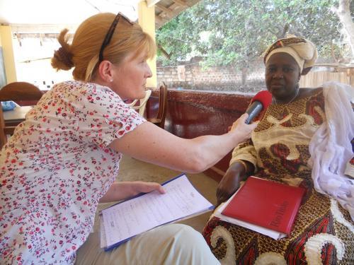 Bildungsbeauftragtes des Landes Kindia Hadja Solomba Condé