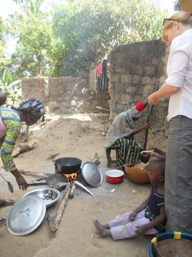 Kochen in Guinea