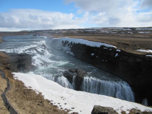 Wasserfall Gúllfos