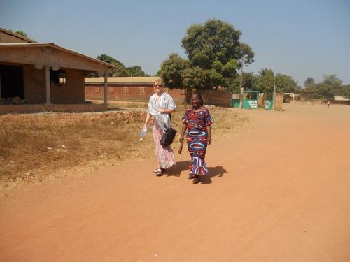 Spaziergang mit Agnes Loua