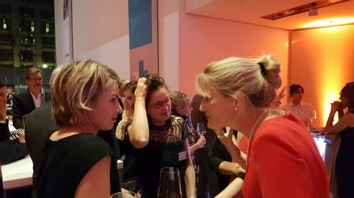 Mit Sabine  Heinrich vom WDR im Gespräch