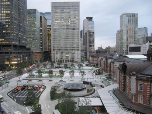 Tokyo Hauptbahnhofsvorplatz