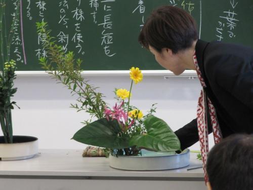 Ikebana mit Mika Tsujii