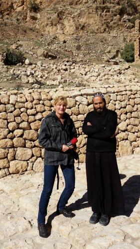 Abt und einziger Mönch Yuyakin Unval,
