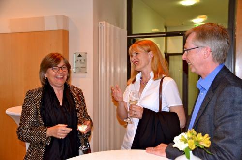 Karin Beindorff, DLF, Dorothea Brummerloh und Dr. Carsten Brummerloh